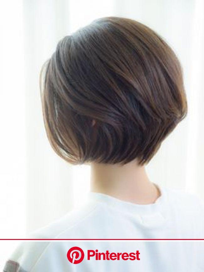 人気のヘアスタイル、髪型を探すならKirei Style[キレイスタイル] | ヘアスタイル, ヘアカット, 前下がりボブのヘアスタイル