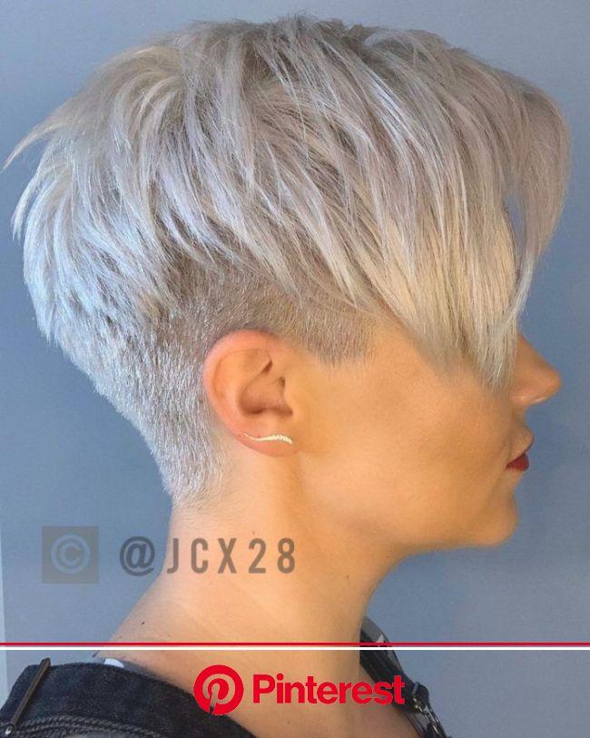 Wie finde ich den richtigen Kurzhaarschnitt für mein Gesicht? | Kurzhaarschnitte, Haarschnitt kurz, Frisuren kurze graue haare