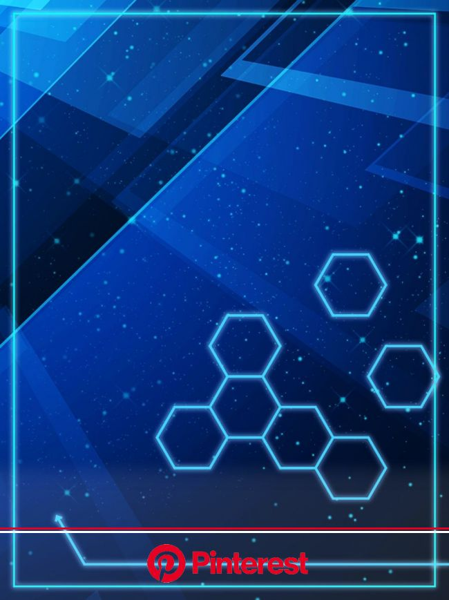 Original Blue Technology Blue Light Cool Background in 2020 | Cool backgrounds, Print design template, Best background images