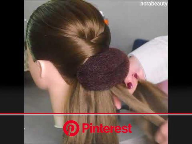 تسريحة جميلة للمناسبات???? حبيباتي شكرا على دعم الفيديو بلايك وتعليق????❤ - YouTube | Beautiful hair, Long hair styles, Medium hair styles