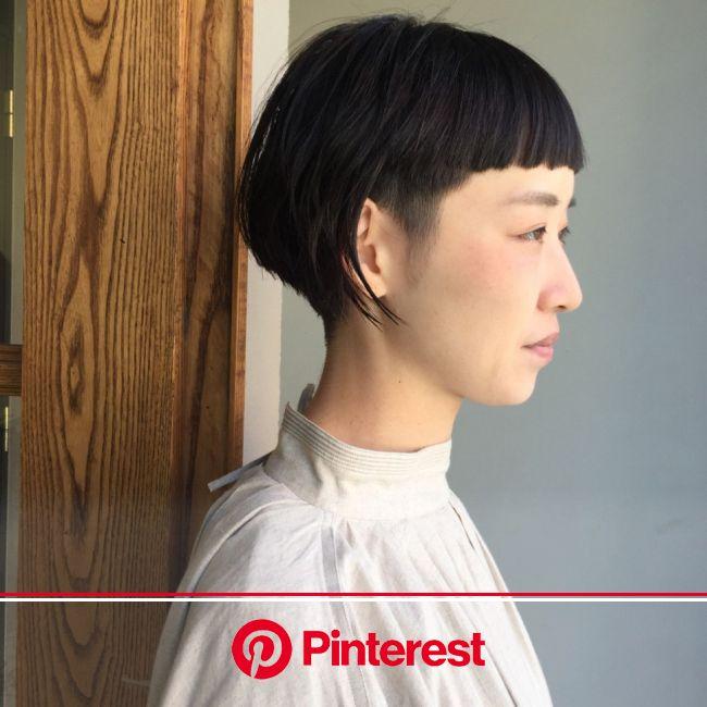 刈り上げ女子急増中!色気も備えたハンサムショートに注目【HAIR】 | 個性的 ヘアスタイル, 刈り上げヘア, ボブヘア