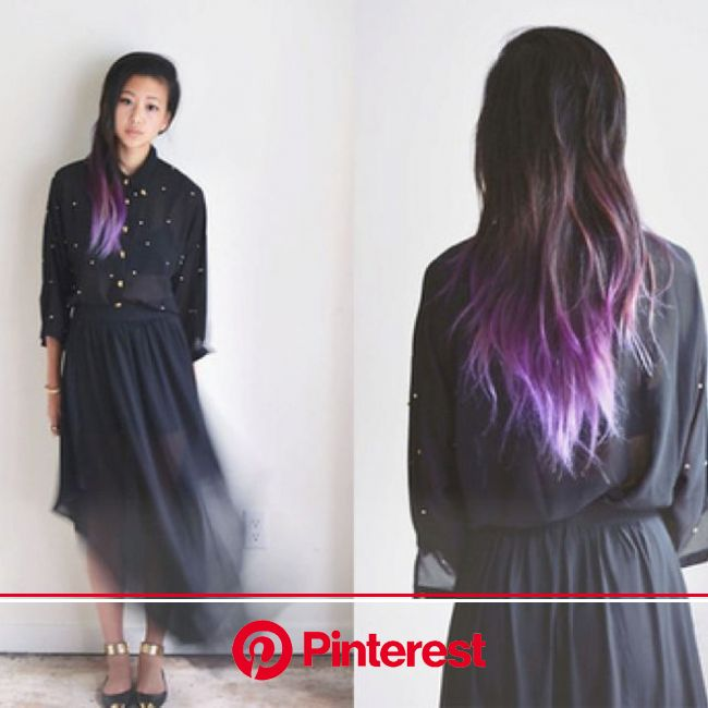 Pin by Patty Brown on Hair definitely do's! | Purple ombre hair, Dark ombre hair, Hair dye tips