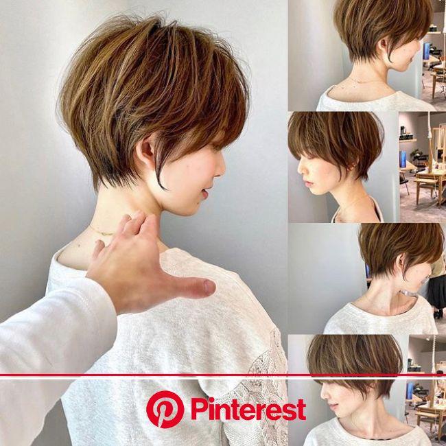 Short Hairstyles | Japanese short hair, Short hair styles, Short hair haircuts
