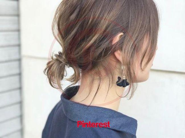 こなれ感がたまらない♡ロブの1weekアレンジ | Hair arrange, Short ponytail, Hair affair