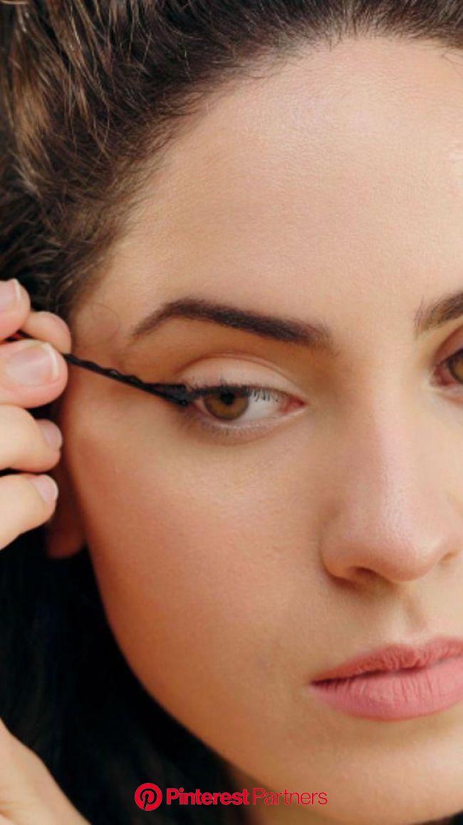 Esses são os MELHORES truques para fazer o delineado perfeito! #makeup in 2020 | No eyeliner makeup, Eyebrow makeup, Skin makeup