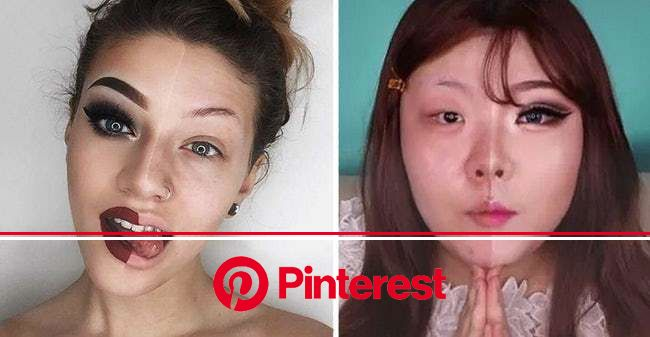 Photos That Prove The True Power Of Makeup | Power of makeup, Makeup, Youtube makeup