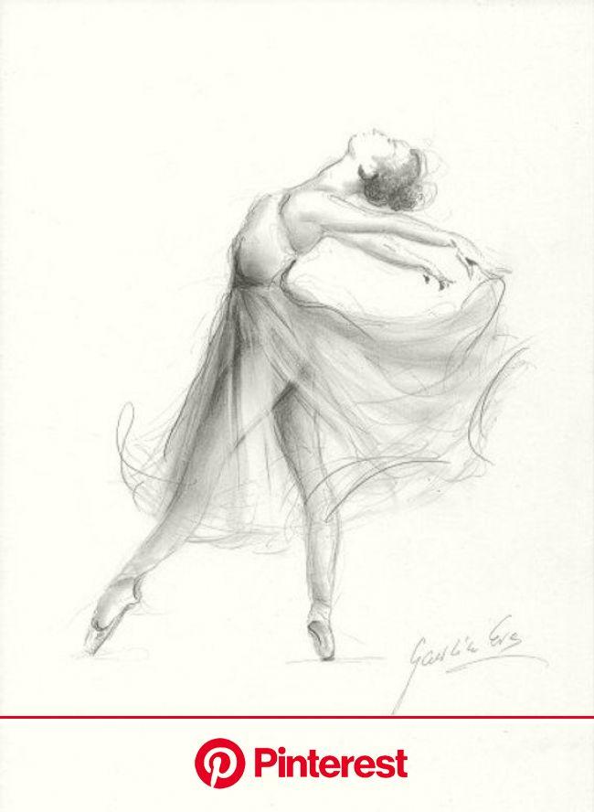 Print of Ballerina, Print of Sketch, Print of Drawing, Graphite Ballerina, Ballet Dancer, Ballerina Wall Art, Girl Room Decor, Gift for Her | Ballet d