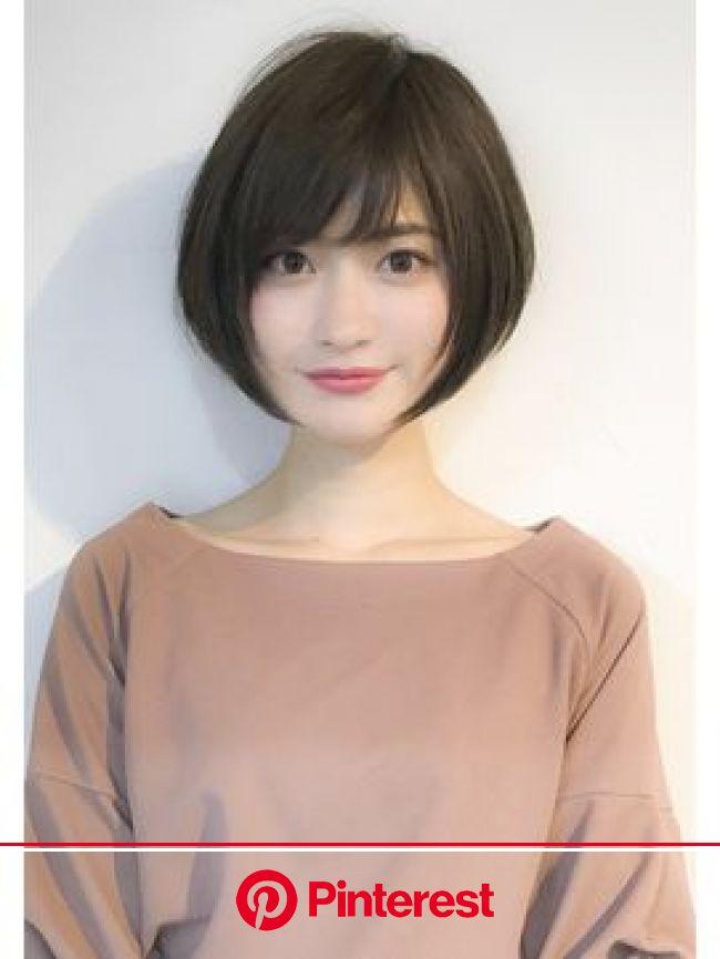人気のヘアスタイル、髪型を探すならKirei Style[キレイスタイル] | ヘアスタイリング, ボブ ひし形, 髪型