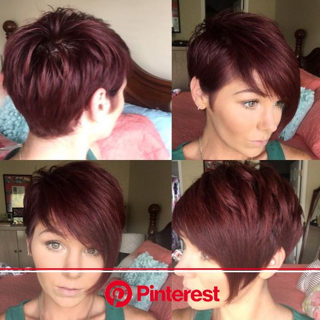 Found on Bing from www.pinterest.com | Short red hair, Short hair styles, Hair styles