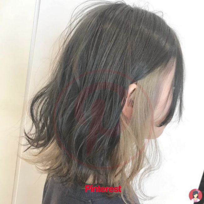 Looks trendy in case you do not know what to do with your hair in 2020 | Aesthetic hair, Hidden hair color, Hair videos