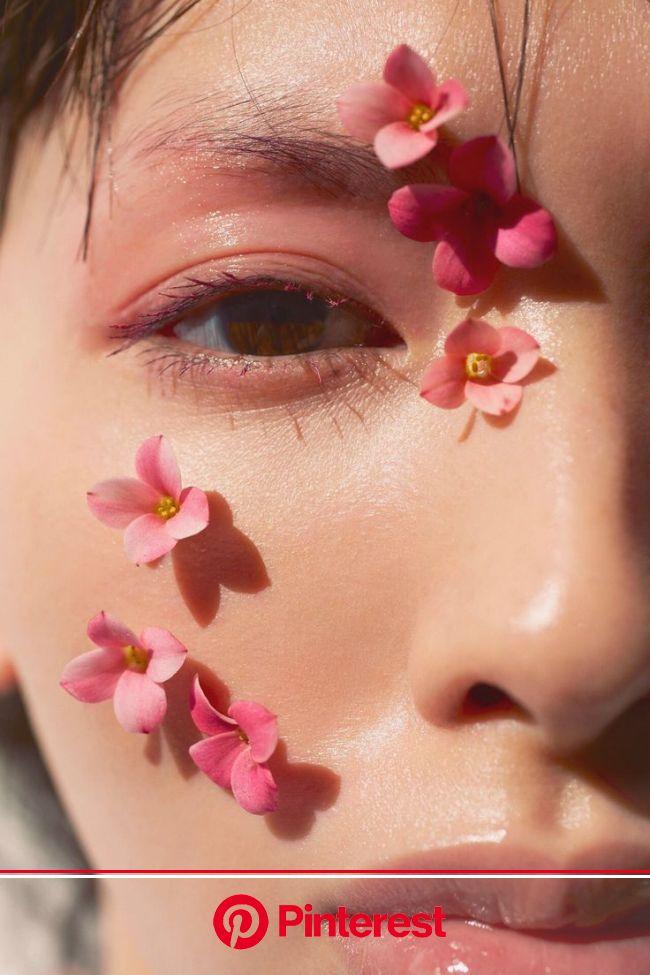 [OG] Gedung Gambar Lawa | Flower makeup, Aesthetic makeup, Makeup art