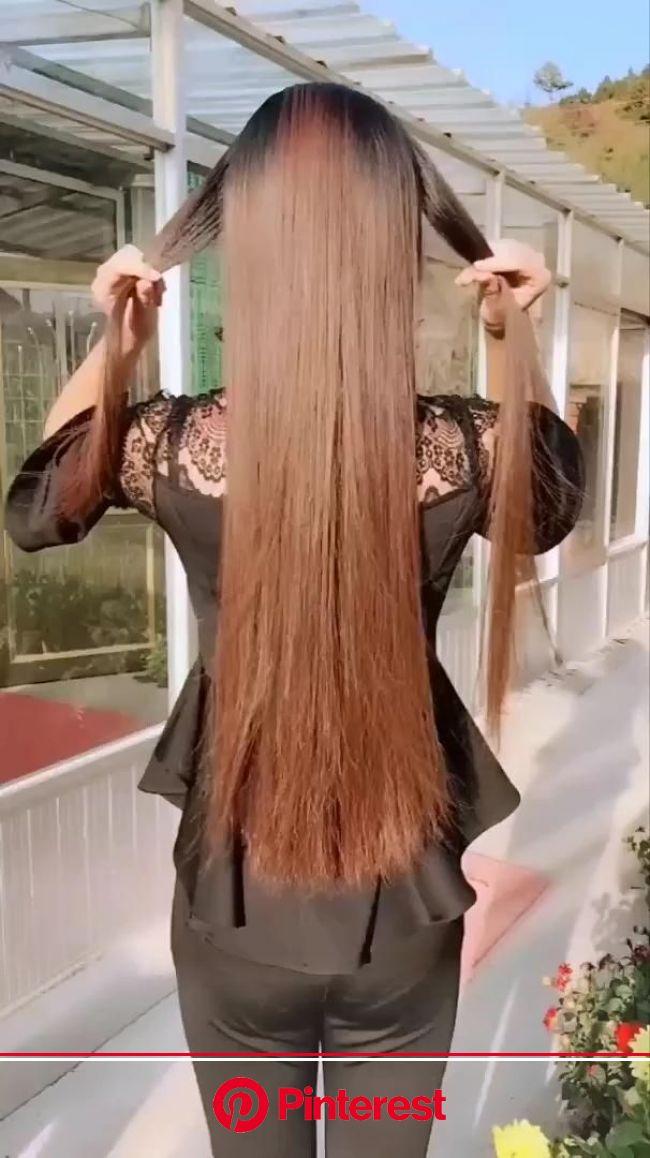 17 Trendy Long Hairstyles for Women in 2020 [Video] in 2020 | Long hair styles, Hair styles, Long hair video