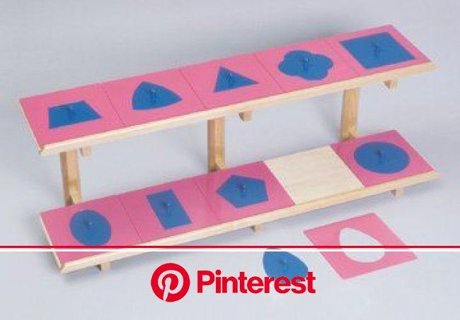 Amazon.com: Montessori Metal Insets Set/10: Toys & Games | Montessori materials, Kids rugs, Montessori