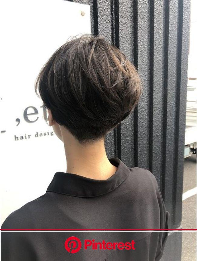 刈り上げショート:L039231470|エト([,et])のヘアカタログ|ホットペッパービューティー | 60代 髪型, ヘアカット, ショートのヘアスタイル