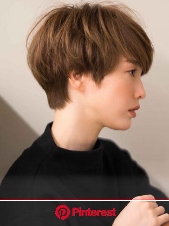 大人なジェンダーレスマッシュショート:ショート(画像あり) | 日本人のショートヘア, アジア人 ショートヘア, ショートヘア 女の子