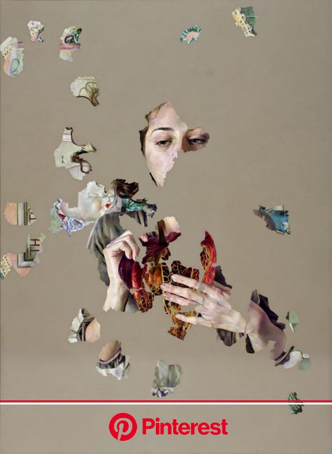 Fragmented Paintings Reveal Complex Narratives | Art, Art painting, Fine art painting