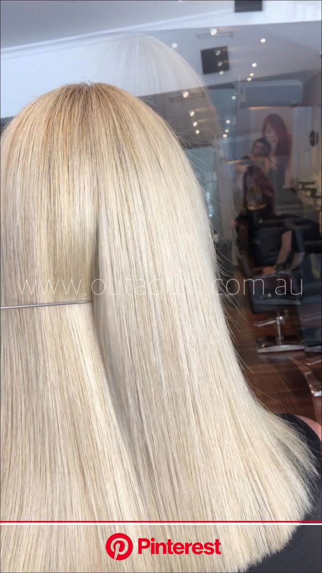 #blondehighlights #iceblonde #blonde #blondehighlights #blondehairstyles #hairdresser #perth [Video] in 2020 | Haircut types, Long hair styles, Hair s