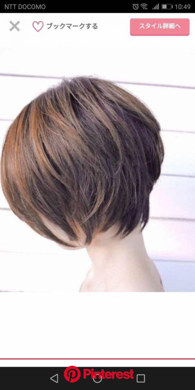 ◆美容院での髪型の伝え方~私の場合 | ヘアスタイル, ショートカット 40代, ヘアカット