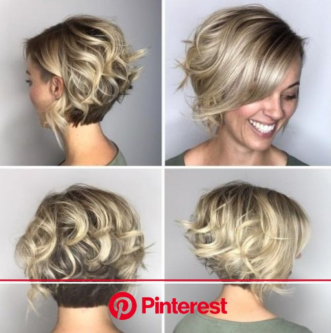 50 Mind-Blowing Simple Short Hairstyles for Fine Hair 2019 - Travel Yourself | Hair styles, Short hair styles, Stacked haircuts