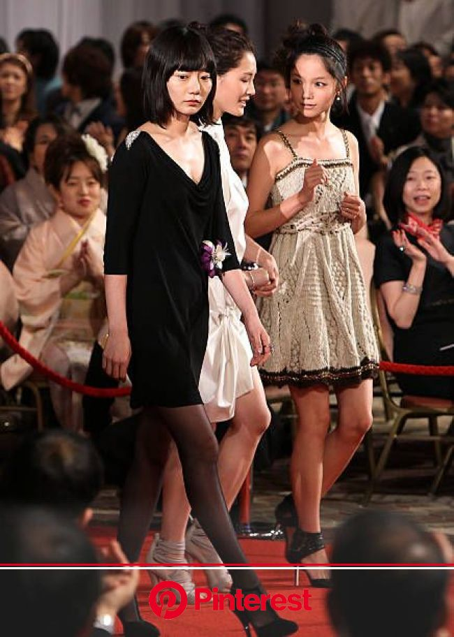 Actresses Bae Doona Haruka Ayase and Aoi Miyazaki attends the 33rd Japan Academy Aawrds at Grand Prince Hotel New Takanawa on March 5 2010 in Tokyo..…
