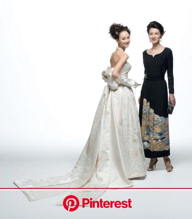 『衣装で紡ぐ母娘の絆』 | 親族衣装, 着物スタイル, 和 ドレス