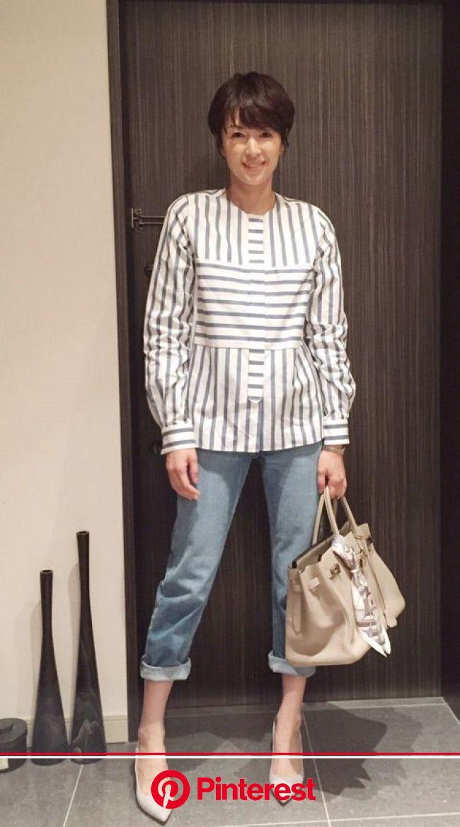 ✨(画像あり) | 吉瀬美智子, ファッション, 骨格 ナチュラル 芸能人