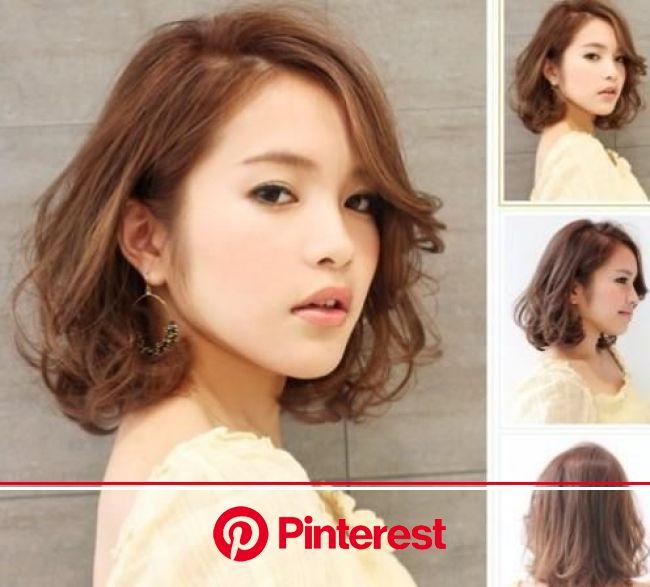 Riding the Korean Wave - Korean Perm FAQ | Short hair styles, Medium hair styles, Hair styles