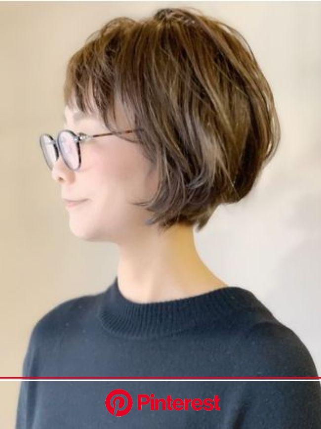 ラトリエコンタン(L´atelier Content)|ホットペッパービューティー | 50代 ヘアスタイル ショート, 髪型 ボブ, ヘアスタイリング