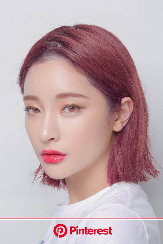 Get That Perfect Rose Gold Hair with 3CE's New Treatment Hair Tint in 2021 | Korean hair color, Hair color pink, Hair tint