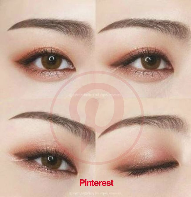 Trendy Makeup Ideas Eyebrows Eyeshadows Eyeliner Ideas #makeup | Korean eye makeup, Asian eye makeup, Ulzzang makeup