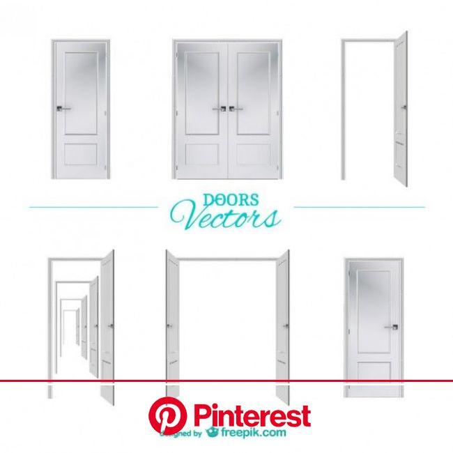 ベクトルのドアのグラフィック要素を無料でダウンロード | 白いドア, ドア, グラフィック