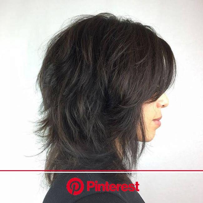 50 Ways To Wear a Chic Shag Haircut Ideas For a Trendy Look | Modern shag haircut, Medium shag haircuts, Shag haircut