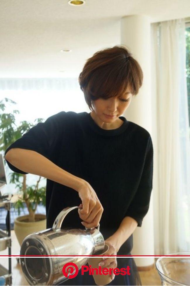 田丸麻紀『林本レポート&wardrobe』   ヘアスタイル, 愛され ヘア, ショート 女子
