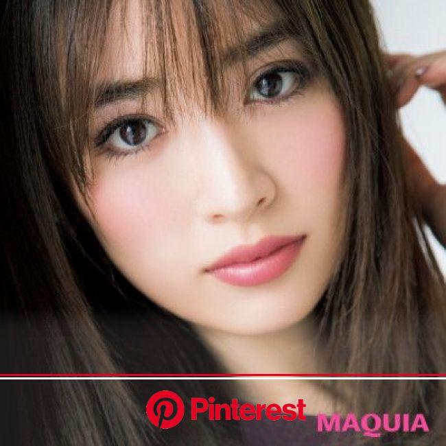 マキア読者が選んだ2017年下半期「ベストメイク」を発表! | マキアオンライン(MAQUIA ONLINE) | ヘアモデル, 髪型 女性, 美しい目