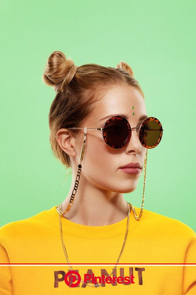 The Frame Chain Unveils their New Summer Campaign | Editorial fashion, Glasses chain, Fashion photography