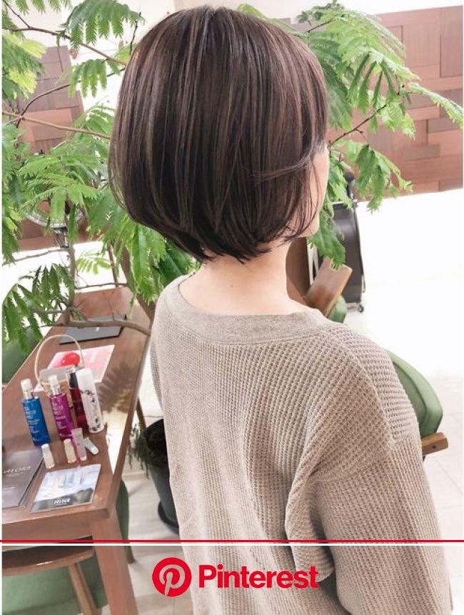 クセを収まり良くショートにイメチェンkchiara福岡川野直人:L043270137|キアラ(Kchiara)のヘアカタログ|ホットペッパービューティー | ヘアカット, ショートボブのヘア, ヘアスタイル