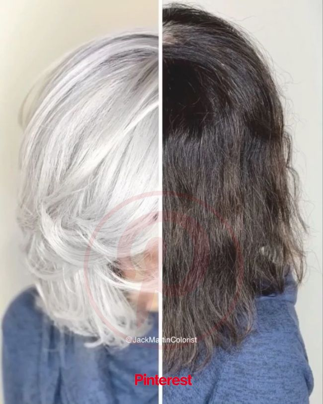 10 Times Jack Martin Helped His Clients Go Gray | Icy hair, Grey hair video, Gray hair highlights