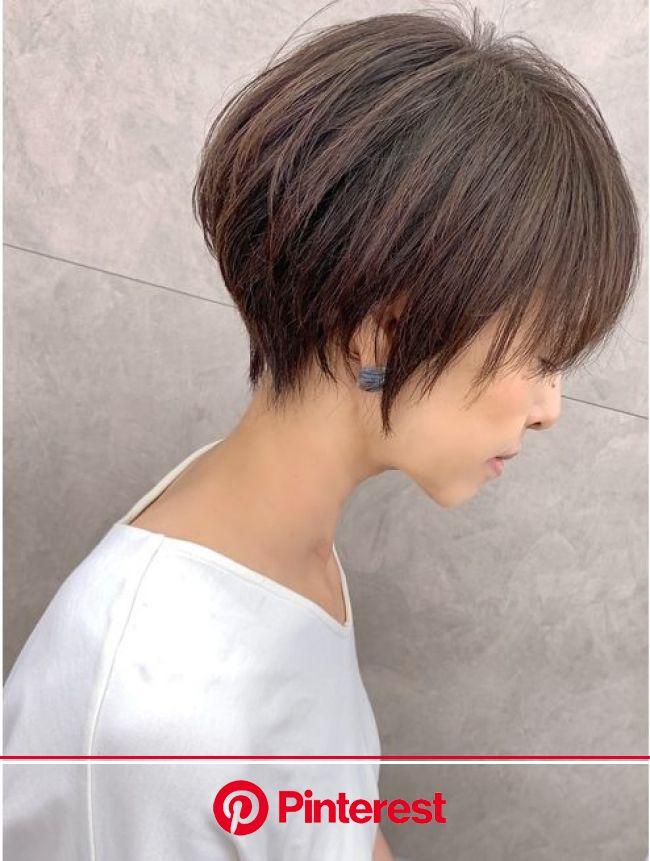 この夏おすすめ☆丸み×くびれひし:L037526911|マグ ギンザ(mag ginza)のヘアカタログ|ホットペッパービューティー | ショートカット かっこいい, ヘアスタイル, ヘアカット