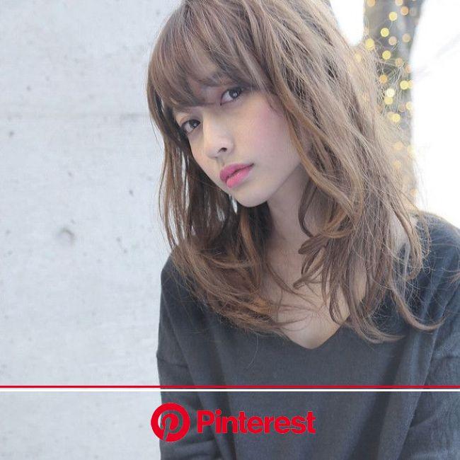 秋冬はどんな髪色が人気?おしゃれな秋ヘアカラーカタログ20 | 髪 色, 髪型 女性, 髪型