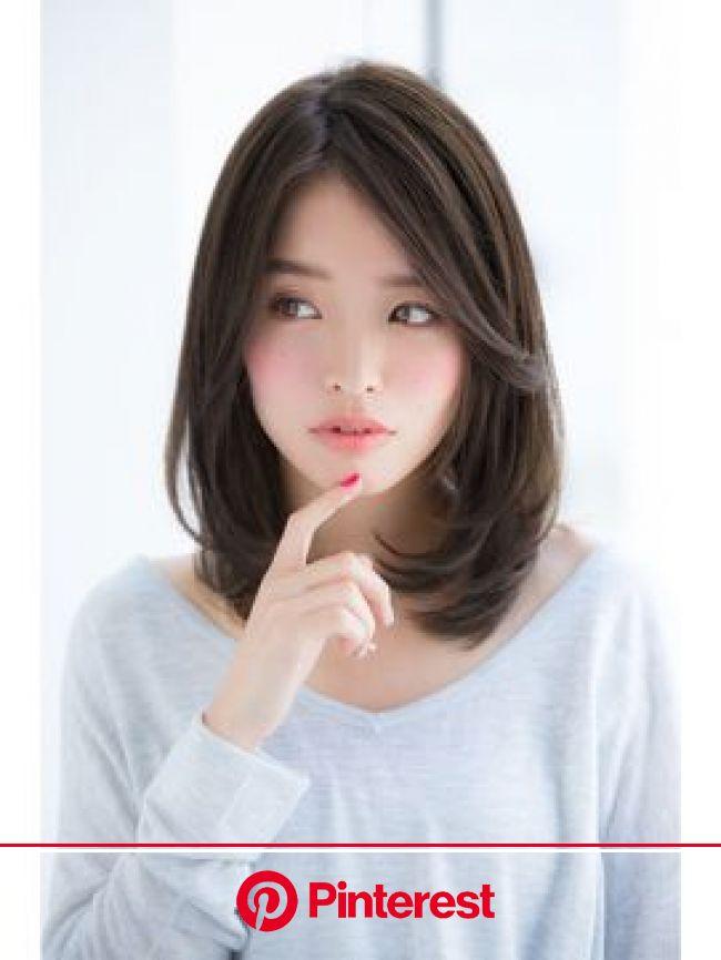 人気のヘアスタイル、髪型を探すならKirei Style[キレイスタイル] | ミディアムロング, ミディアムヘア, 髪型