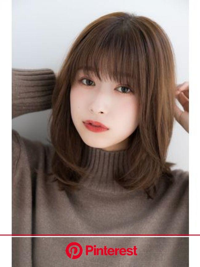 【2021年冬】セミロングの髪型・ヘアアレンジ|人気順|7ページ目|ホットペッパービューティー ヘアスタイル・ヘアカタログ | アジア人 ショートヘア, ショートのヘアスタイル, ヘアスタイル ロング
