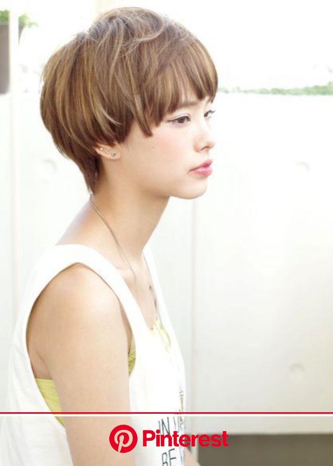 大人可愛いマッシュショート|ACQUA omotesandoのヘアスタイル(画像あり) | ヘアスタイル, マッシュショート, 髪型