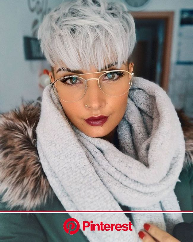 Pixie Bangs Haircut | Thick hair styles, Short hair styles pixie, Short hair styles