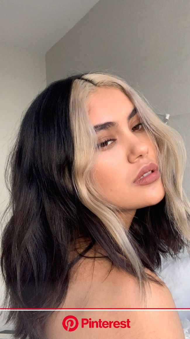 Mechas frontales! in 2020 | Hair inspo color, Hair color streaks, Hair color underneath