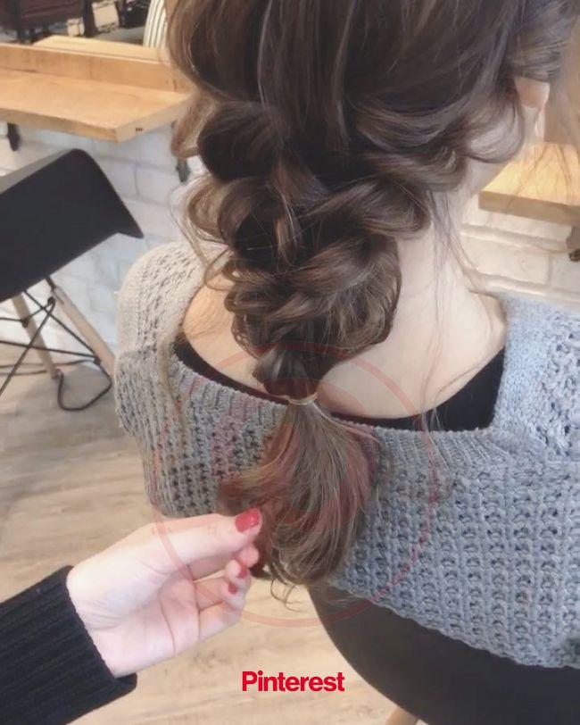 ゆるっと感が可愛い♡大人女子の「ダウンポニー」アレンジ10選 in 2020   Hair styles, Hair beauty:__cat__, Beauty