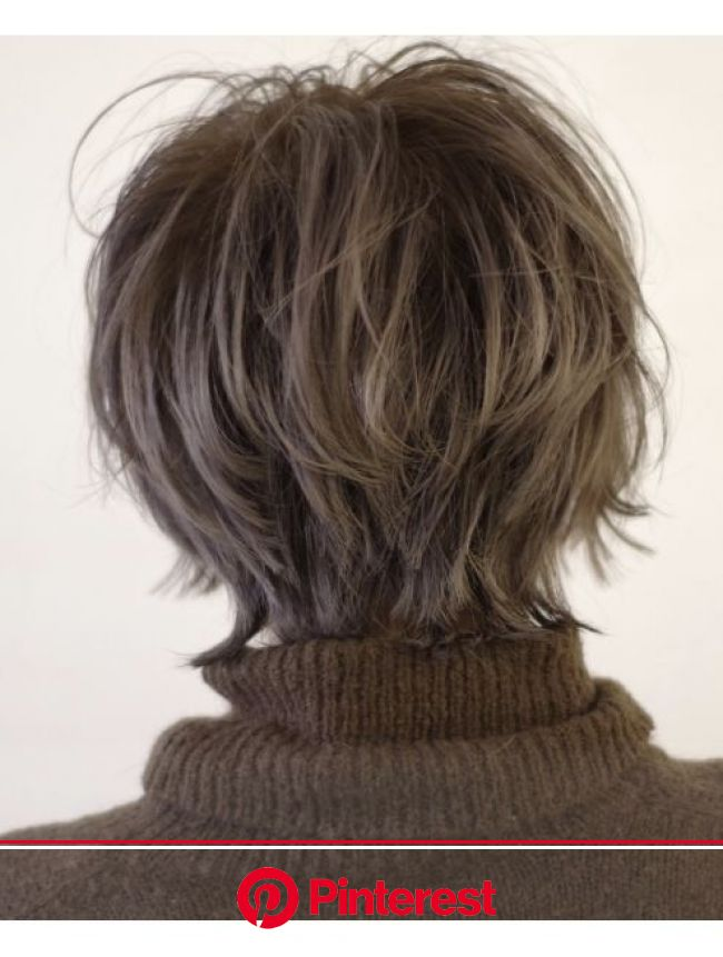 ウルフショート:L018030635|イル(iLu.)のヘアカタログ|ホットペッパービューティー | ヘアカット, ヘアスタイル, 女性 髪型 ショート
