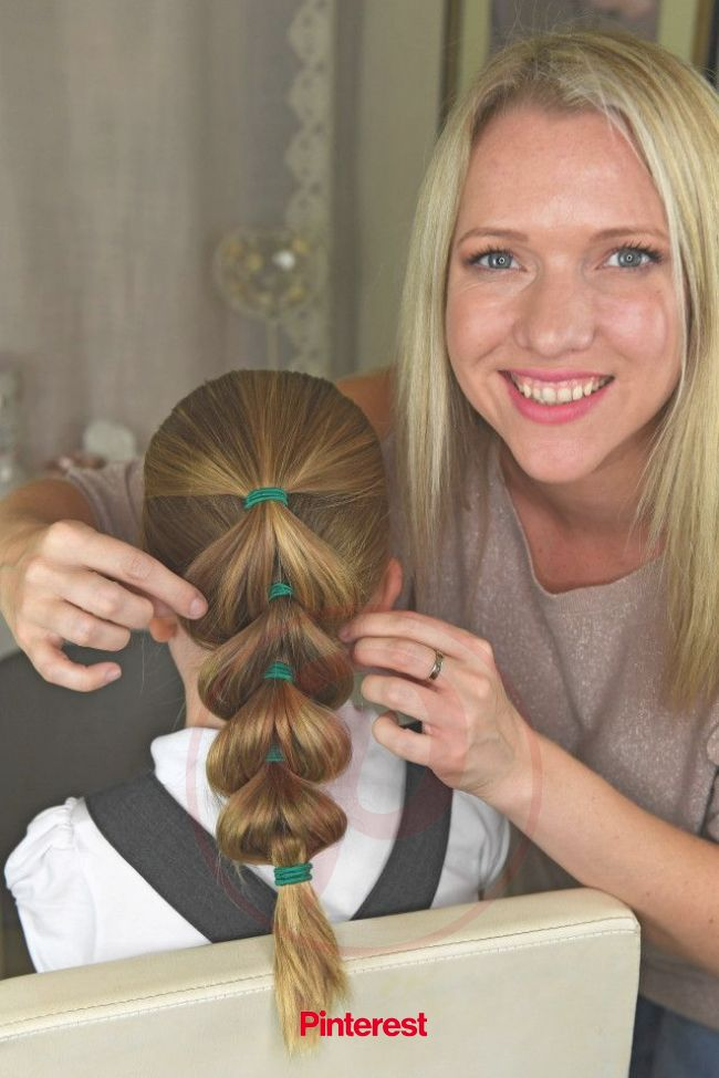 Mum unveils five no-fuss hairstyles YOU can do on your girls before they go to school | Girl hairstyles, Girl hair dos, Girls hairdos