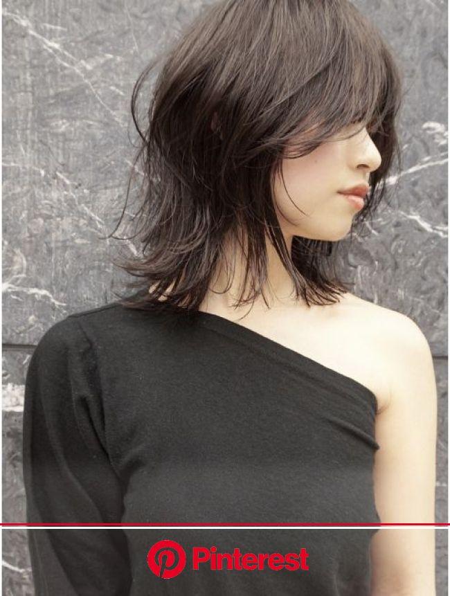 シマ アオヤマ(SHIMA AOYAMA)ハイレイヤースタイル | レイヤーカットヘア, ヘアカット ミディアム, ヘアスタイル