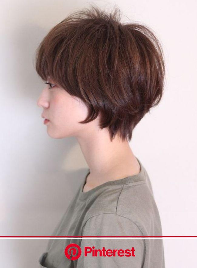 ふんわりキュートなマッシュショート(髪型ショートヘア) | マッシュショート 髪型, ヘアスタイル, マッシュショート