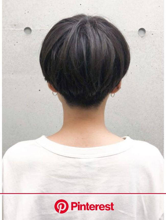 【BREEN 原宿】ソフト刈り上げ大人可愛いクールハンサムショート:L017441168|ヘアサロン ブリーン トウキョウ(Hairsalon BREEN Tokyo)のヘアカタログ|ホットペッパービューティー | アジア風ヘアカット, 黒髪ボブのヘアスタイル, ヘアカット ショート